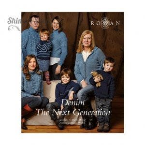 Брошюра Rowan Denim The Next Generation на анг.языке